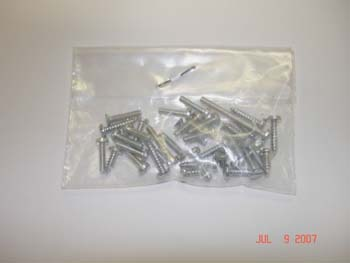 2072a - Pan head screws