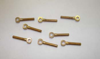 3038a - Brass ring bolt